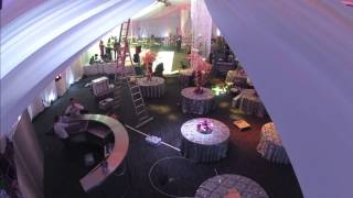 Wedding set up: The Point at Emirates Old Trafford