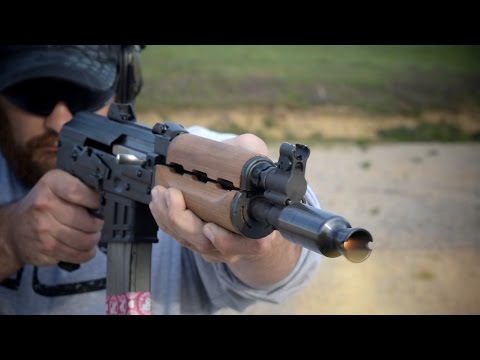 M85 NP PAP AK Pistol: Fire Breathing Monster