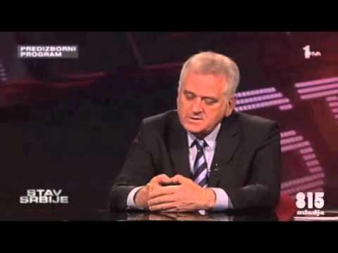 Tomislav Nikolic  diploma  piano Dragan Calina