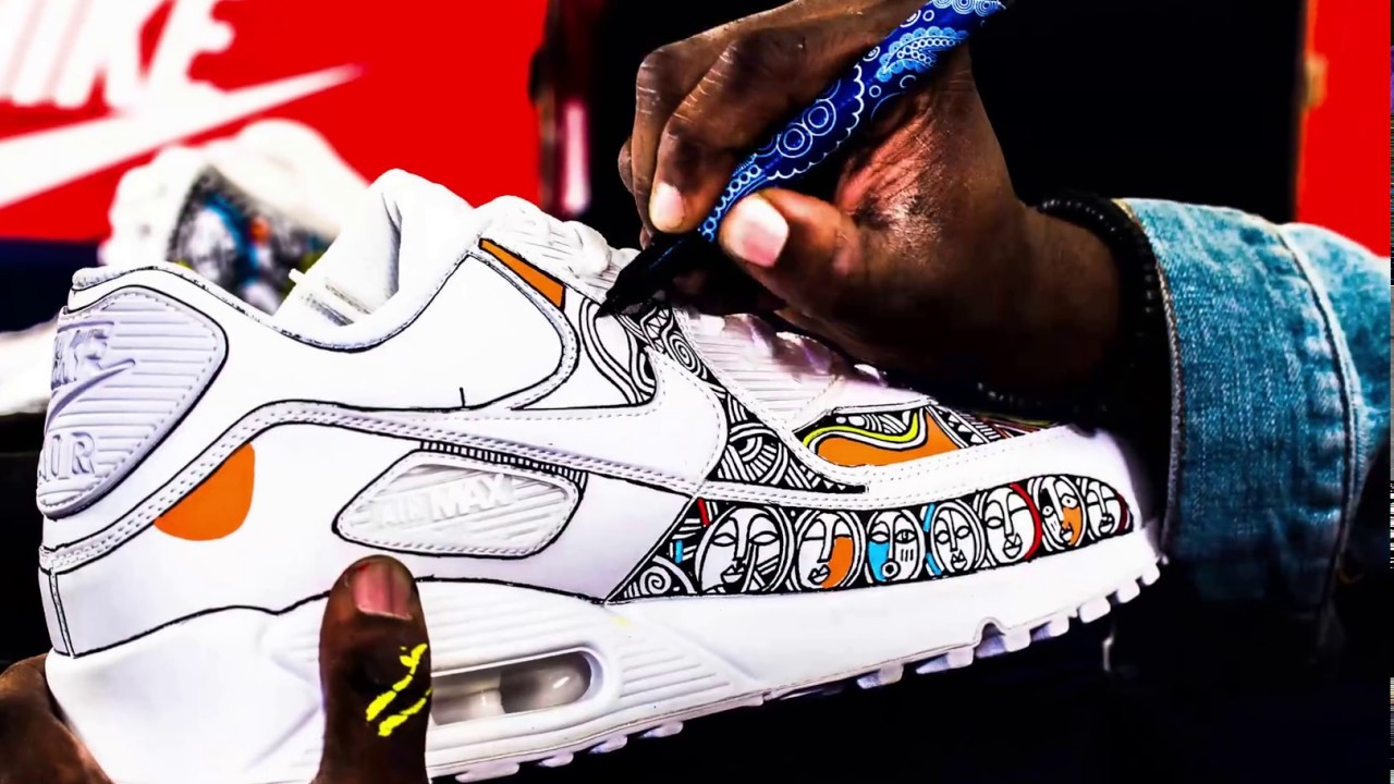 Laolu NYC Shoe Art Timelapse
