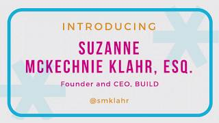 BUILD Founder & CEO, Suzanne McKechnie Klahr, Welcomes Guests to the 8th Annual BUILD Gala