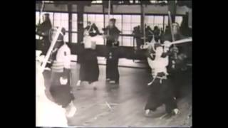 Old kendo documentary on the Showa-era (japanese)