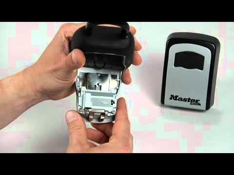 Operating the Master Lock 5400D & 5401D SafeSpace® Lock Boxes