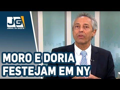 Bob Fernandes/Moro e Doria festejam em NYork, Paulo Preto desiste de delação e... o tríplex...