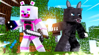 Funtime Freddy and Twisted Wolf Skywars Disaster! Minecraft FNAF Roleplay