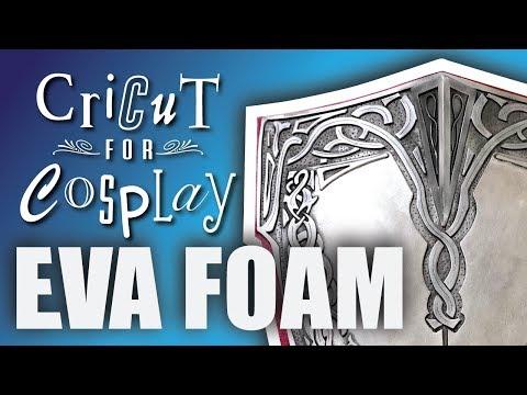 Cricut For Cosplay: Cutting & Scoring EVA Foam
