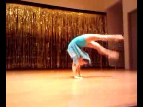 "ISSY PITA, age 8, acro solo, Britt Nicole's, ""Walk On The Water"""