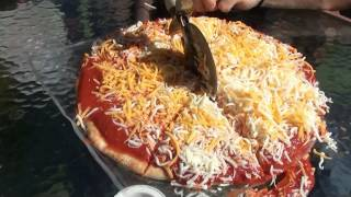 "Supersized 3000+ Calorie ""Lunchable"" Pizza"