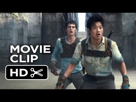 The Maze Runner Movie   Runners 2014  Dylan O'Brien, Ki Hong Lee Movie HD