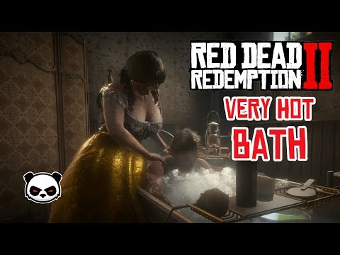 Red Dead Redemption 2 Taking a Bath Very HOT