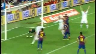 Barcelona vs Madrid 3-2 Resumen del Partido Super Copa 8.17.2011 (All Goals/Todo los Goles)