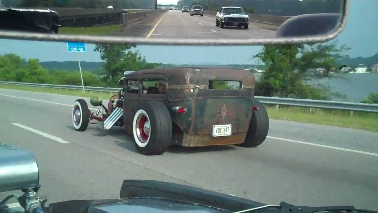 passmore racing hot rods rat rod and muscle cars cruisin to gadsden in car cam youtube. Black Bedroom Furniture Sets. Home Design Ideas