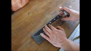 Bushcraft knife making .