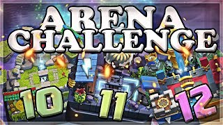 Arena Challenge 10-11-12 | Clash Royale | Part 4 🍊