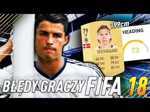 BŁĘDY POPEŁNIANE PRZEZ POCZĄTKUJĄCYCH GRACZY FIFA | FIFA 18 PORADNIK