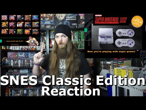 SNES Classic Edition - SNES Mini Reaction & Thoughts - AlphaOmegaSin