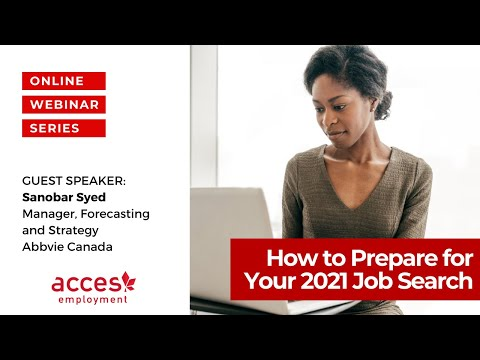 How to Prepare for Your 2021 Job Search