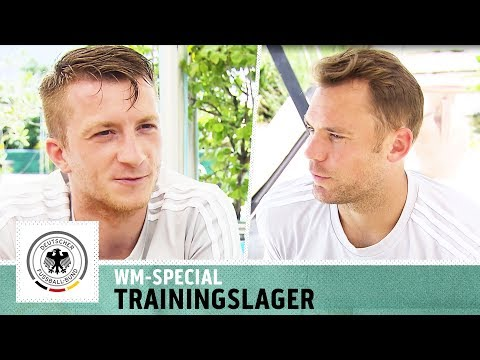 WM-Special mit Manuel Neuer & Co.   Exklusive Einblicke ins DFB-Trainingslager   Kickbox
