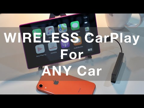 How To Add Wireless Carplay To Any Car With A Cheap Android Tablet
