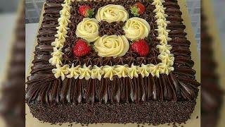 Chocolate Coffee Cake Recipe The Best Frosting كيكة الشوكولاتة أفضل كيكة بالجليز اللامع