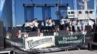 Billys dance - Line dance - dance by Fire heels Hafenfest Stralsund 2016