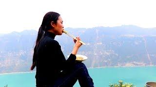 【南方小蓉】我在深山發現一處與世隔絕的世外桃源,在這裏我每天爬山,種地,做美食 過得自由自在