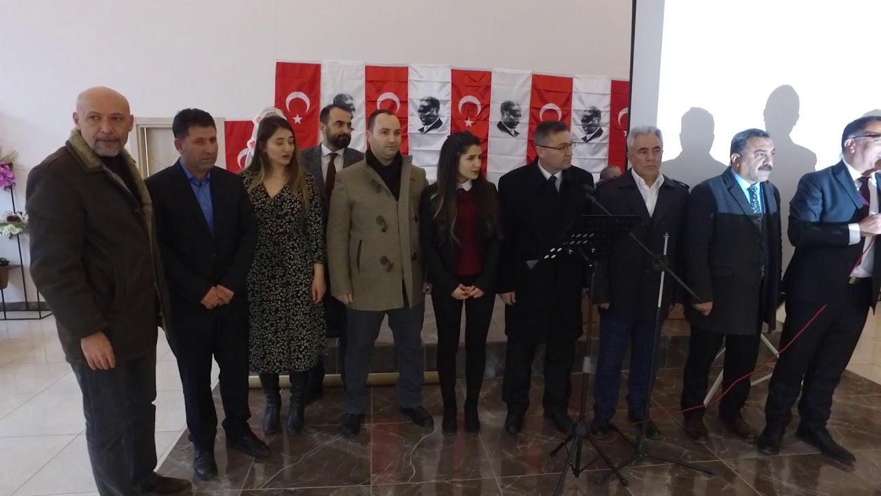 İsmail Taş Ulalar'da Proje Tanıtım Toplantısı Düzenledi