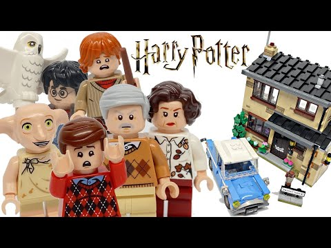LEGO Harry Potter 4 Privet Drive Review! 2020 Set 75968!