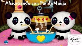Almorzando con Panda Manía // Having Lunch with Panda Mania