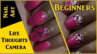 Easy Nail Art for Beginners #1 - Ep 140 | Life Thoughts Camera