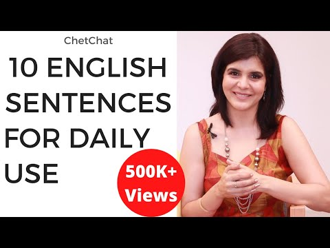 10 Simple English Sentences for Daily Use   Improve Your Spoken English   ChetChat English Tips