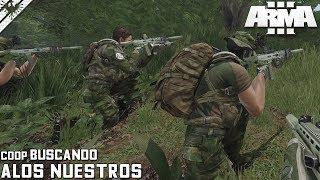 MISIÓN COOPERATIVA | BUSCANDO A LOS NUESTROS | ArmA 3 Gameplay Español (1440p60 HD)