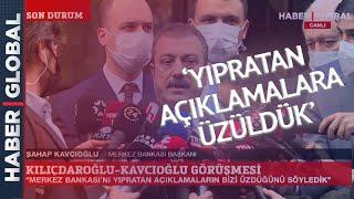 Kılıçdaroğlu Görüşmesi Sonrası Merkez Bankası Başkanı Şahap Kavcıoğlu'ndan Flaş Açıklama