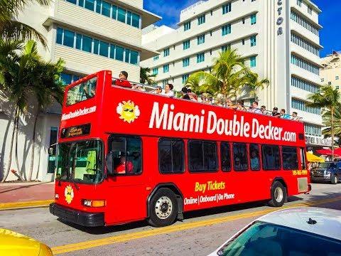 Miami City Tour + Boat Tour