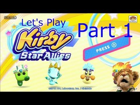 Kirby Star Allies - Part 1: It's too cute