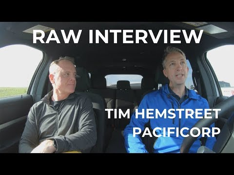 Raw Interview: Tim Hemstreet Of PacifiCorp