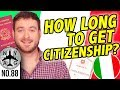 How Long Does It Take To Get Italian Citizenship?