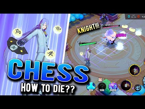 [Non-Human Academy] 白象 - Hero With Chess Pieces | MID Gameplay