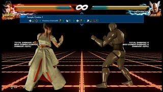鐵拳七連擊範例--Kazumi