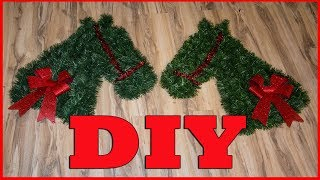 🎄 DIY Horse Head Wreath 🎄 12 Days of Christmas DIY Projects