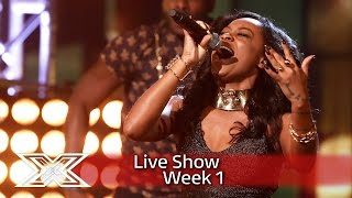 Can Relley C Wow With Mary Mary's Shackles   Live Shows Week 1  The X Factor Uk 2016
