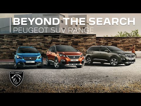 Peugeot SUV Range - Beyond the search