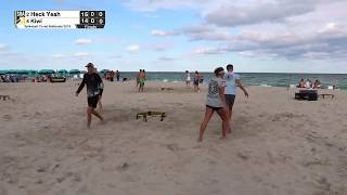 Spikeball Coed National Championship Finals - Heck Yeah vs. Kiwi
