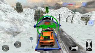Off Road Car Transport Truck Simulator | Truck Videos for Kids Game Play