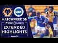 Wolves v brighton  premier league highlights  592021  nbc sports