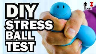 vermillionvocalists.com - DIY Stress Ball Stress Test - Man Vs Pin #88