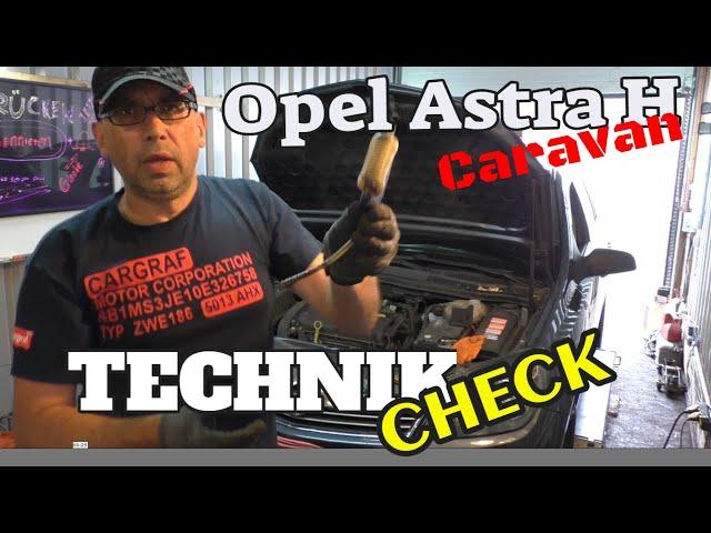 Astra H Caravan - 110000 Km - Technikcheck und Probefahrt