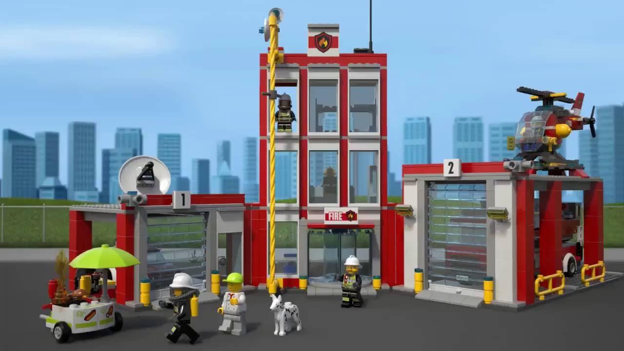 Tidsmæssigt LEGO City, Brandstation 60110 - YouTube YG-04