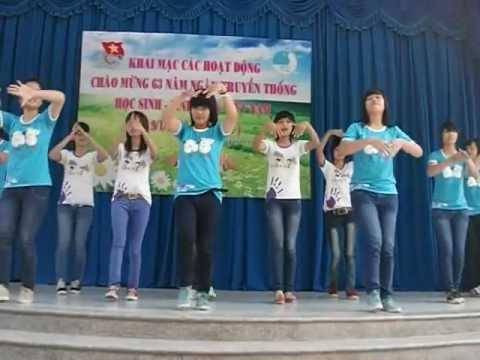Dân Vũ Quốc Tế : Trống Cơm - Zaka(THPT- Nguyễn Huệ)