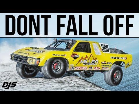 DONT FALL OFF!!! - Forza Horizon 4 - 1350hp Baja Truck thumbnail